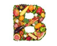 Alfabeto da saúde - B Imagem de Stock Royalty Free