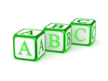 Alfabeto de ABC Fotos de Stock Royalty Free
