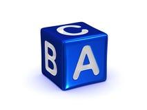 Alfabeto de ABC Fotografía de archivo libre de regalías