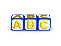 Alfabeto de ABC Imagens de Stock
