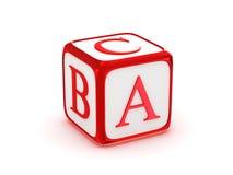 Alfabeto de ABC Fotografia de Stock Royalty Free
