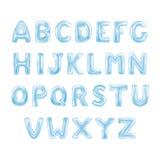 Alfabeto de ABC de los globos Fotos de archivo