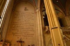 Alfabeto de Glagolitic foto de stock royalty free
