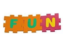 Alfabeto de la diversión Imagenes de archivo