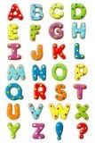 Alfabeto de la galleta Imágenes de archivo libres de regalías