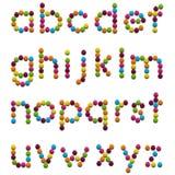 Alfabeto de los cabritos Imagenes de archivo