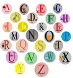 Alfabeto de los niños Foto de archivo libre de regalías