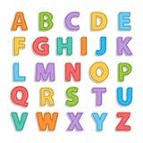 Alfabeto de Needled ilustración del vector