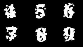 Alfabeto de oro enmarañado alfa del lazo con los corazones stock de ilustración