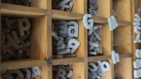 Alfabeto de pedra para decorar a casa Fotos de Stock