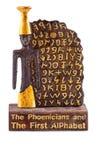 Alfabeto de Phoenicians fotos de stock
