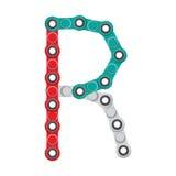 Alfabeto del nuevo hilandero antiesfuerzo popular del juguete Letra R Ilustración del vector libre illustration