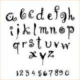 Alfabeto del vector Imagen de archivo