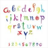 Alfabeto del vector Imagen de archivo libre de regalías