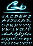 Alfabeto del vector libre illustration