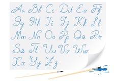 Alfabeto dell'illustrazione Fotografia Stock Libera da Diritti
