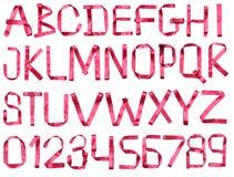 Alfabeto della burocrazia Immagine Stock
