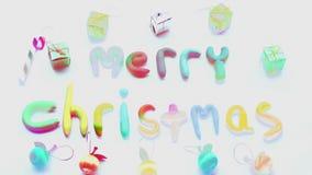Alfabeto delle luci di Natale royalty illustrazione gratis
