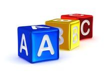 Alfabeto di ABC Fotografia Stock Libera da Diritti
