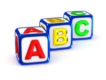 Alfabeto di ABC Immagine Stock Libera da Diritti
