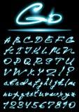 Alfabeto di vettore royalty illustrazione gratis