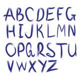 Alfabeto di vettore Lettere disegnate a mano Immagini Stock Libere da Diritti