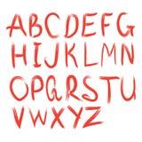 Alfabeto di vettore Lettere disegnate a mano Fotografia Stock Libera da Diritti