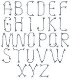 Alfabeto di A-Z Immagini Stock