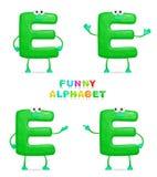 Alfabeto divertente Fotografie Stock