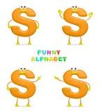 Alfabeto divertente Immagini Stock Libere da Diritti