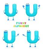 Alfabeto divertente Fotografia Stock Libera da Diritti