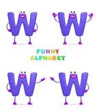 Alfabeto divertente Immagine Stock