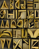 Alfabeto do livro Imagens de Stock Royalty Free