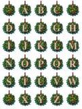 Alfabeto do ornamento Fotografia de Stock Royalty Free