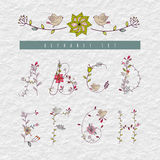 Alfabeto do vintage dentro Imagens de Stock Royalty Free