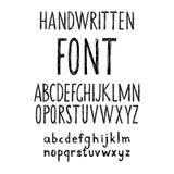 Alfabeto drenado mano del doodle Fotos de archivo