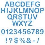 Alfabeto e figure illustrazione royalty illustrazione gratis