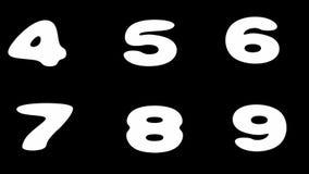 Alfabeto enmarañado alfa del metal del lazo stock de ilustración