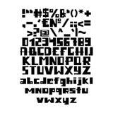 Alfabeto inglês engraçado Fotografia de Stock