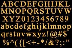 Alfabeto inglese illustrazione vettoriale