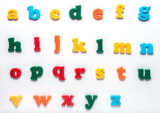 Alfabeto inglese del giocattolo Immagine Stock Libera da Diritti