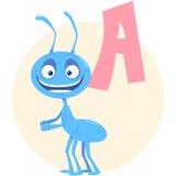 Alfabeto inglese su un tema degli animali illustrazione vettoriale