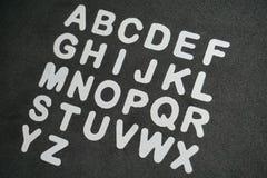Alfabeto imagen de archivo