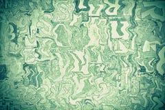 Alfabeto, letras y números verdes como fondo imagen de archivo
