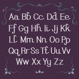 Alfabeto, lettere Fotografie Stock Libere da Diritti