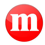 Alfabeto m Foto de archivo libre de regalías