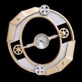 Alfabeto mecánico hecho del hierro Imagen de archivo libre de regalías