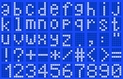 Alfabeto, minúsculo Imágenes de archivo libres de regalías