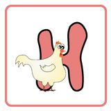 Alfabeto para crianças ilustração do vetor