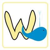 Alfabeto para los niños Imagen de archivo libre de regalías